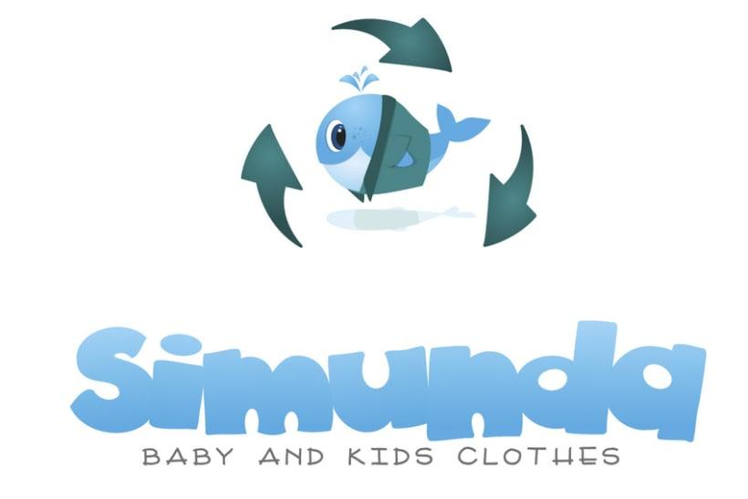 SIMUNDA - Logo para empresa de ropa infantil  -1