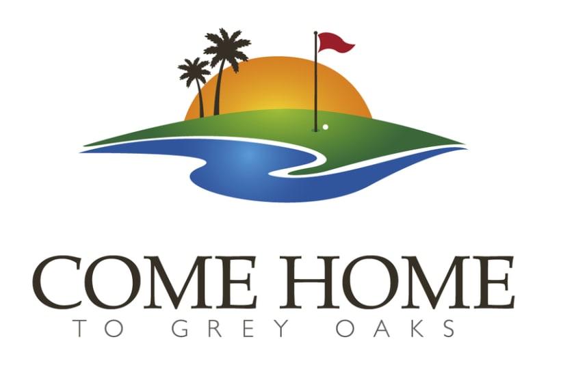 Logo para empresa de venta de casas de lujo, Florida 0