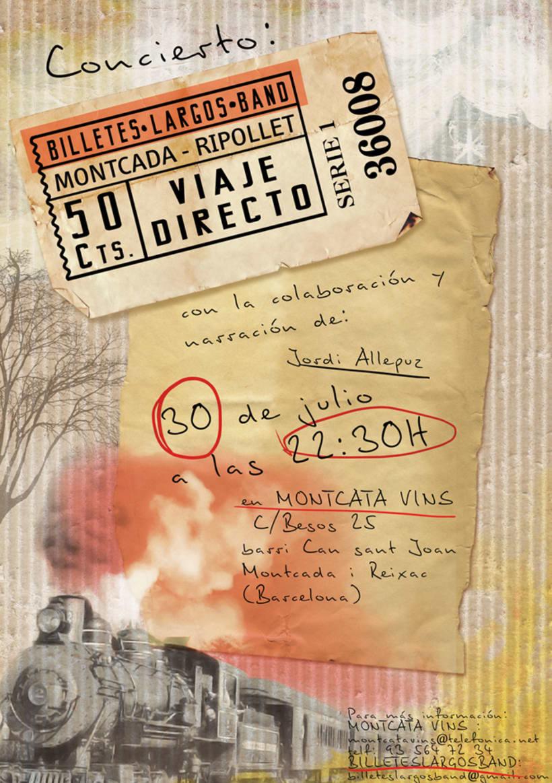 BilletesLargosBand >> CD cover, pack - poster 0