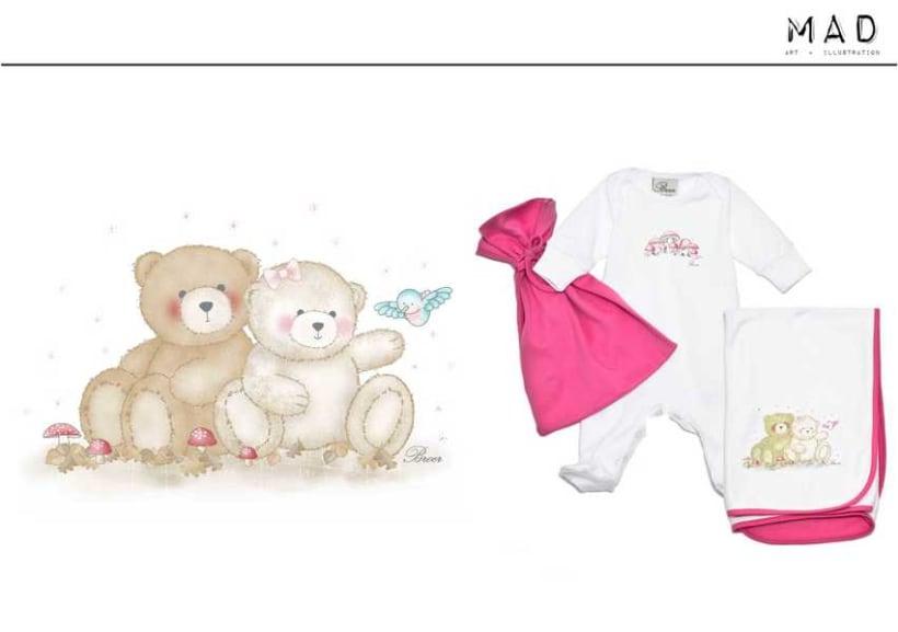 Ilustración  de estampas para Indumentaria Infantil 8