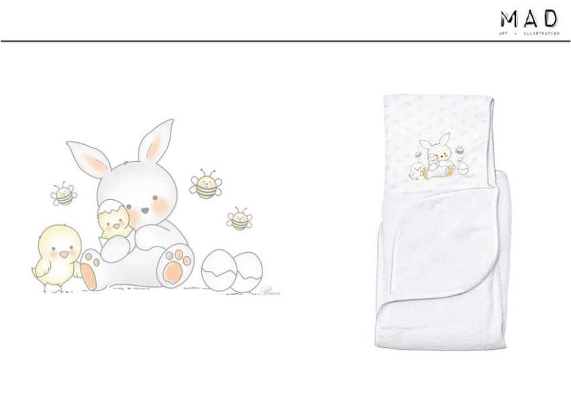 Ilustración  de estampas para Indumentaria Infantil 10