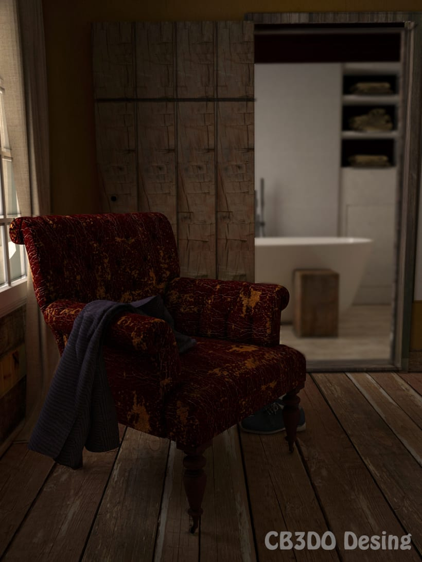 Interior con sillon 2