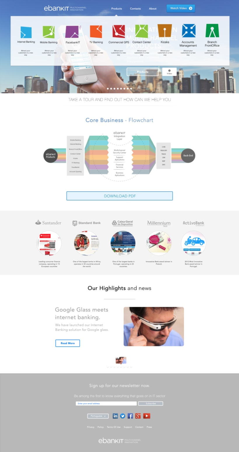 Home page design 0