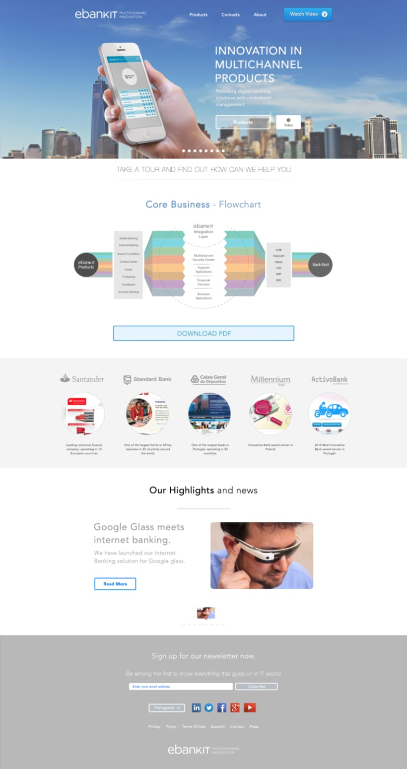 Home page design 1