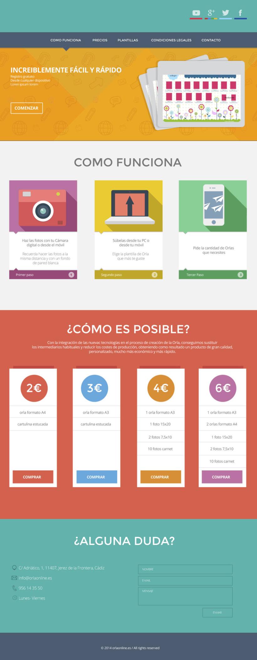 Orlaonline / Nuevo diseño web 2014 -1