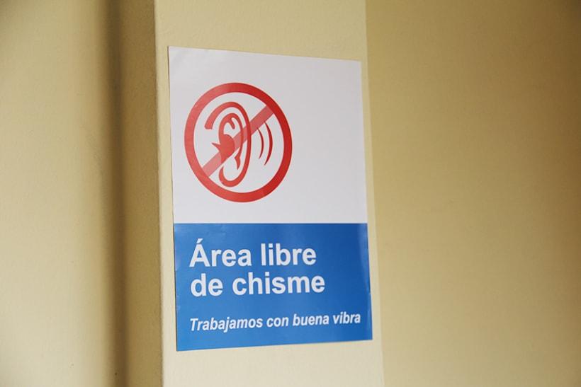 """Campaña contra el """"chisme"""" en EsSalud 6"""