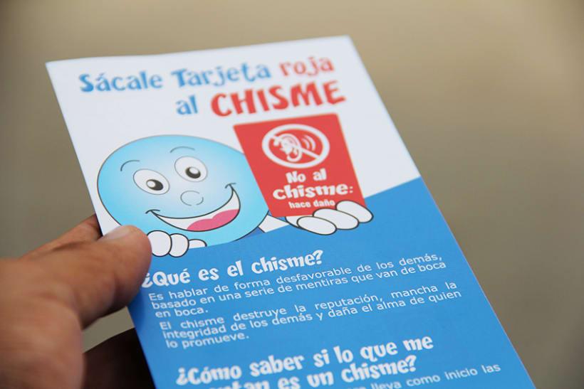 """Campaña contra el """"chisme"""" en EsSalud 3"""