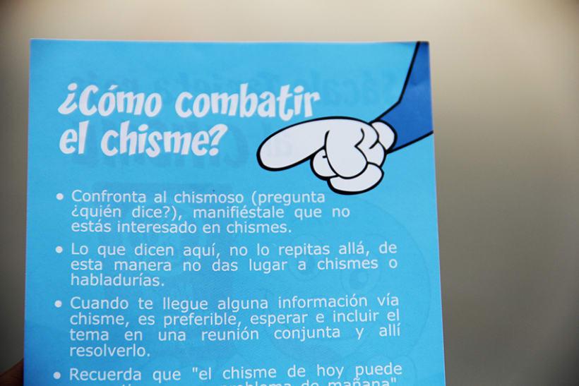 """Campaña contra el """"chisme"""" en EsSalud 4"""