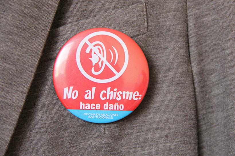 """Campaña contra el """"chisme"""" en EsSalud 5"""