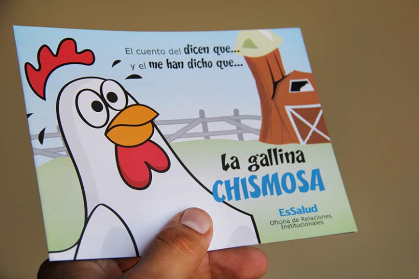 """Campaña contra el """"chisme"""" en EsSalud 1"""