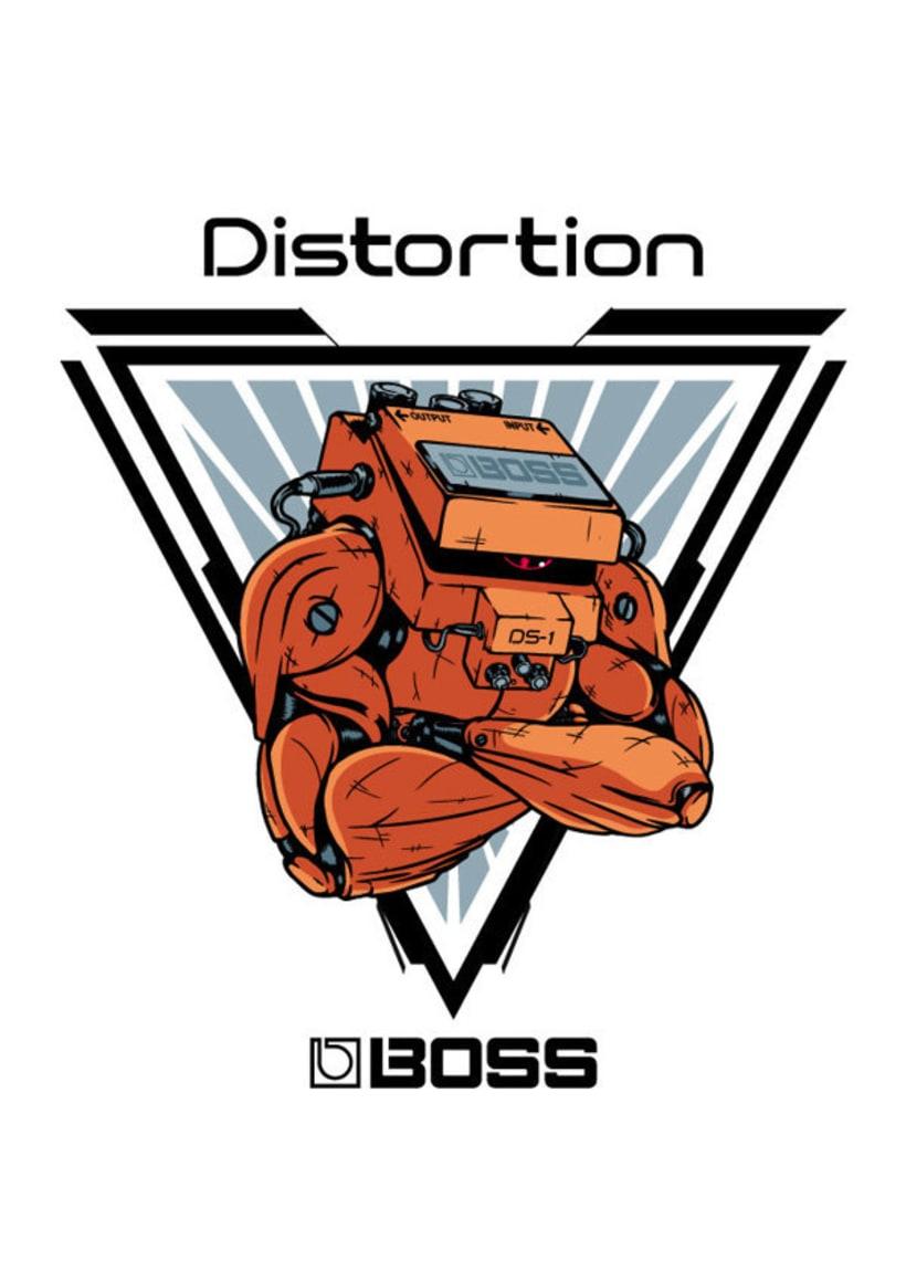 Ilustraciones para BOSS Gear -1