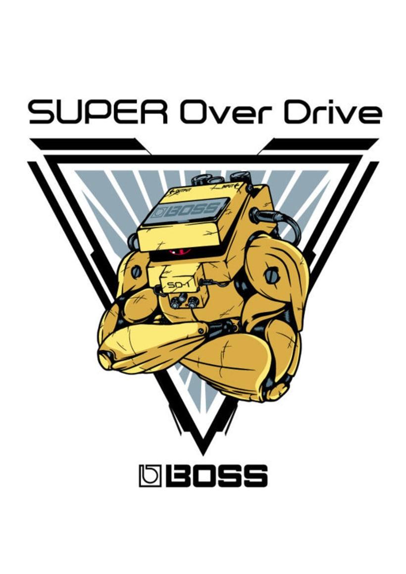 Ilustraciones para BOSS Gear 0