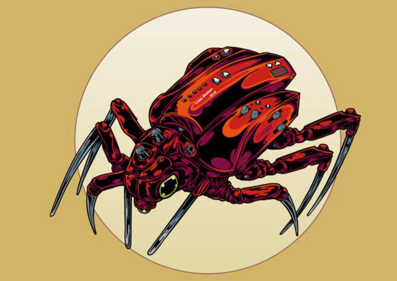 Ilustraciones para BOSS Gear 7