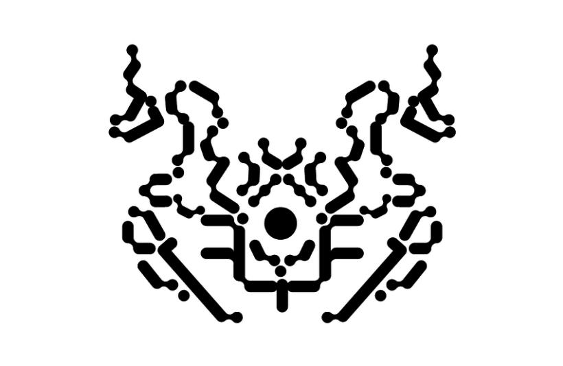 Tipografía Rorschach 3