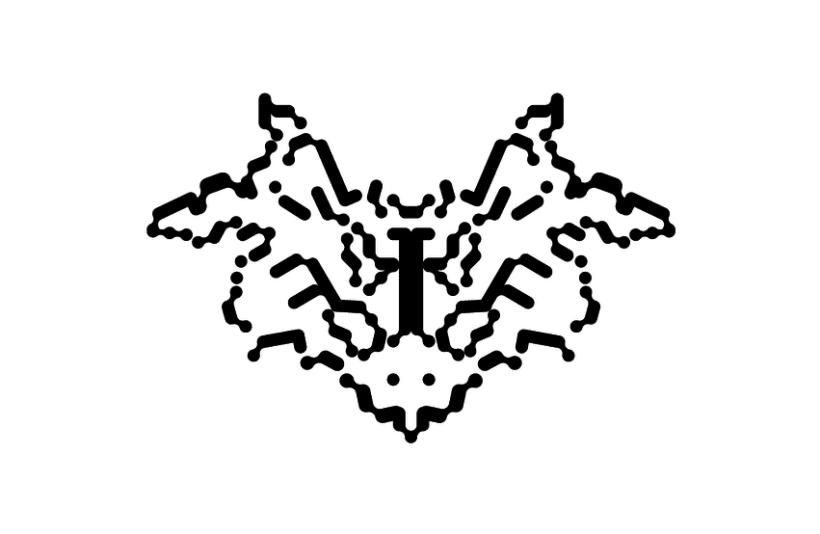 Tipografía Rorschach 4