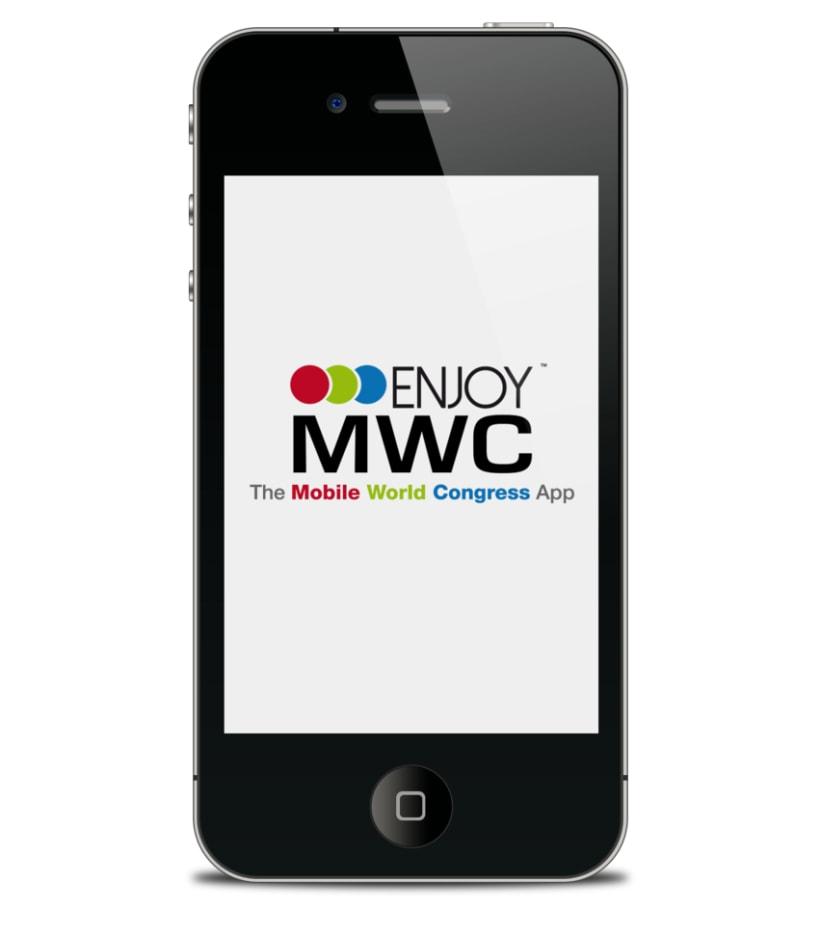 Desarrollo y Diseño de App Enjoy MWC 1