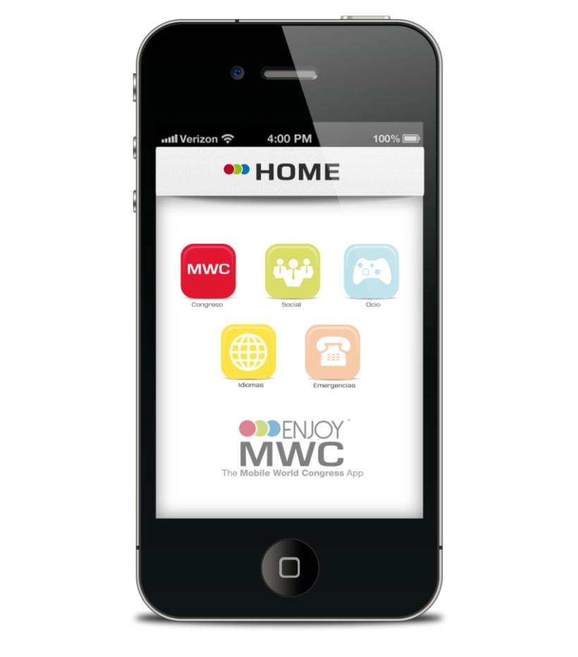 Desarrollo y Diseño de App Enjoy MWC 2