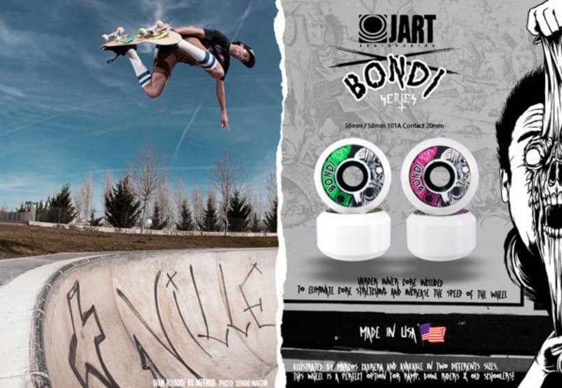 Jart Skateboards - Pool Before Death Series 2