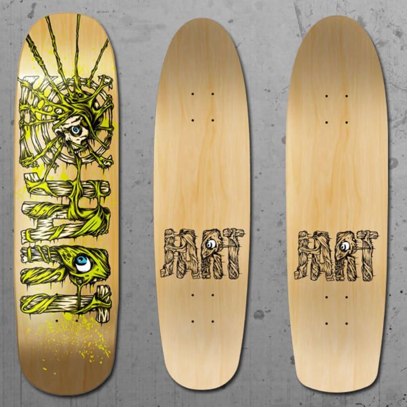 Jart Skateboards - Pool Before Death Series 4
