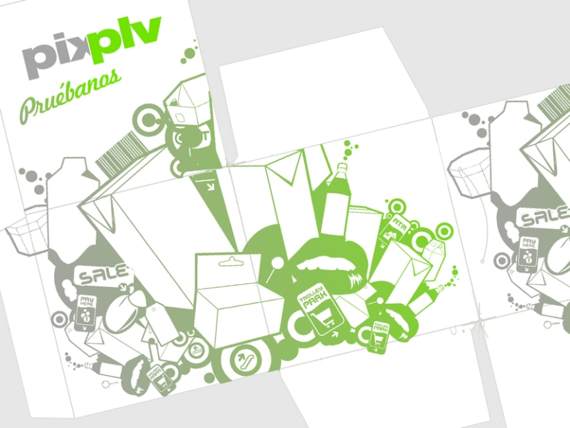 Caja promocional PLV Pix estudio -1