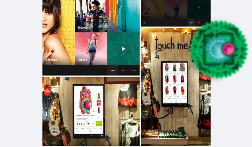 Desigual App - TouchScreen 0