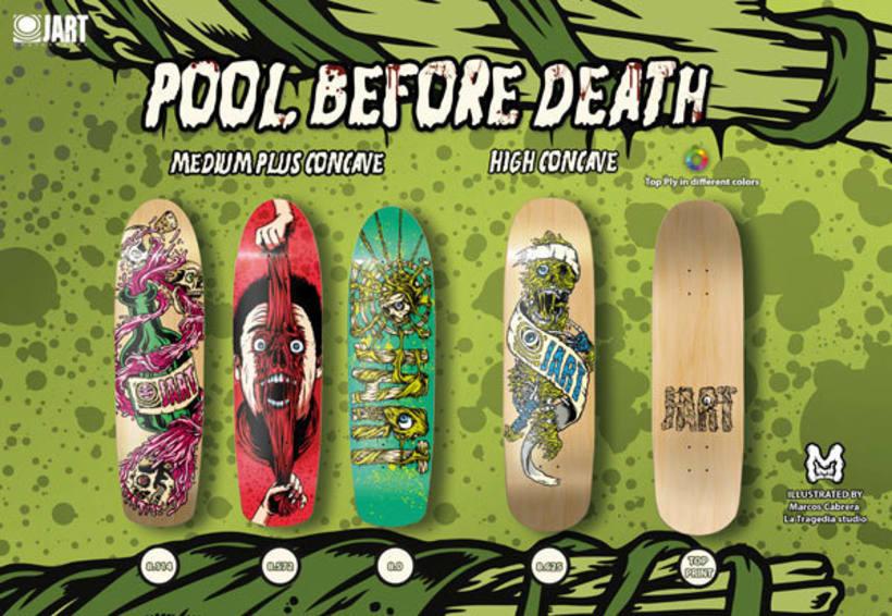 Jart Skateboards - Pool Before Death Series 1