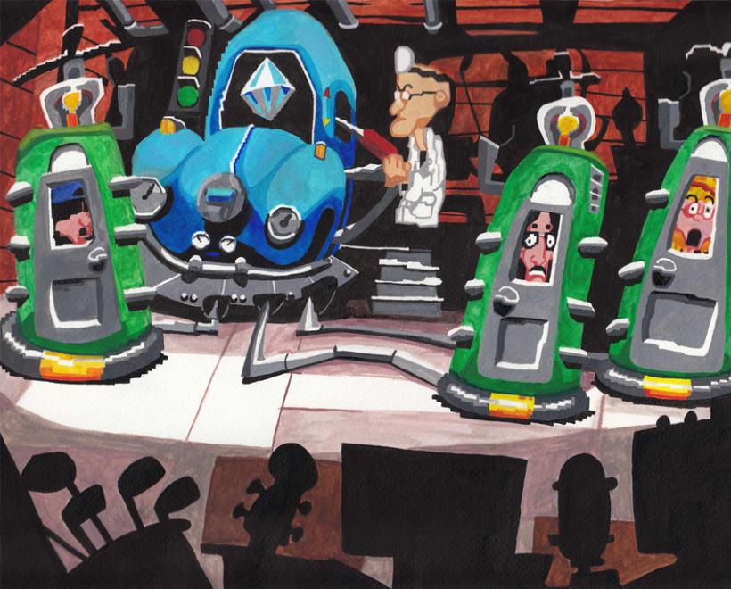 De la pantalla al lienzo: una mirada pictórica a los videojuegos 14