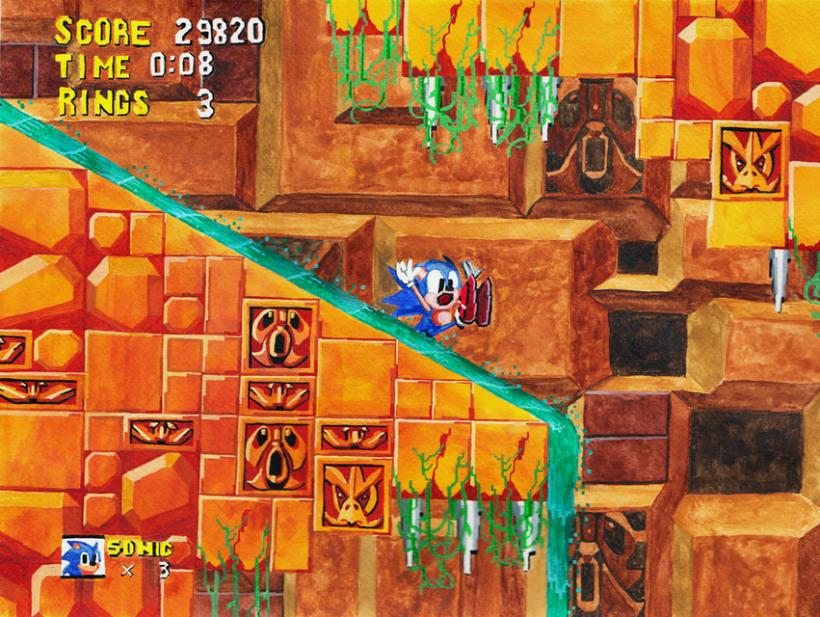 De la pantalla al lienzo: una mirada pictórica a los videojuegos 16