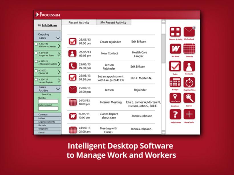 Processum, Intelligent software 1