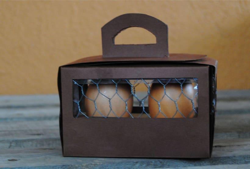 Packaging dos huevos  0