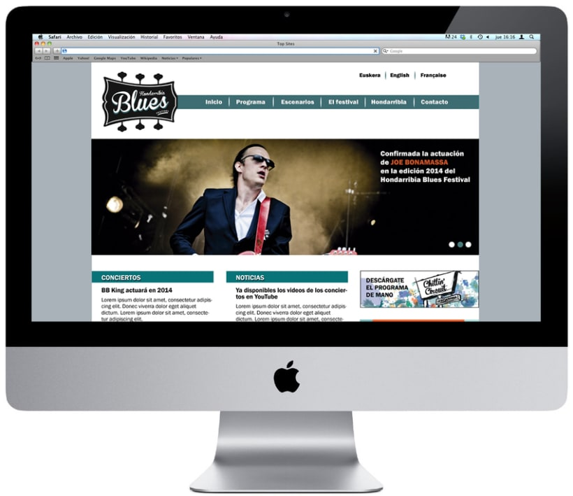 Identidad Hondarribia Blues Festival 7