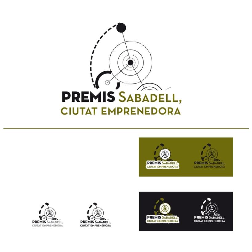 "Identidad Corporativa. ""Premis Sabadell Ciutat Emprenedora"" 0"