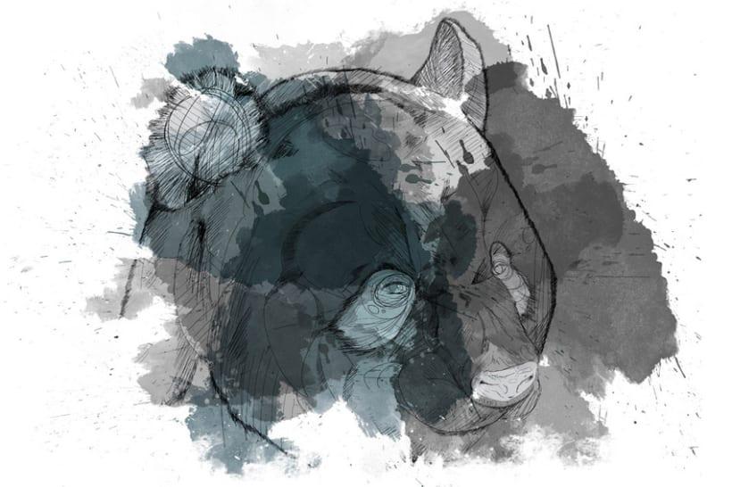 EASTPAK PANDA BEAR -1