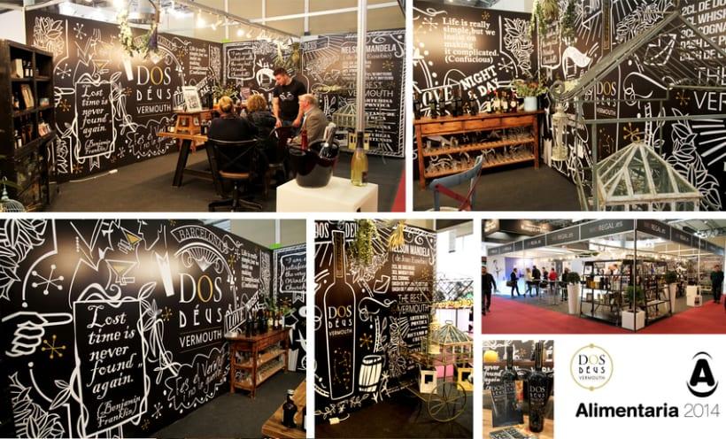 DOS DEUS / ALIMENTARIA | Diseño para el stand de WKYREGAL en Alimentaria 2014 (Barcelona) -1