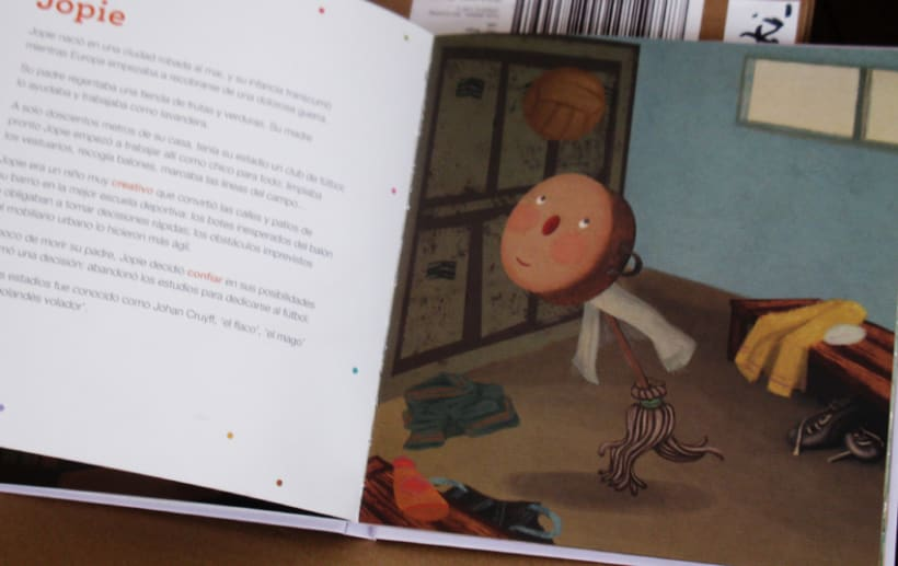 Ilustraciones para una publicación española -1