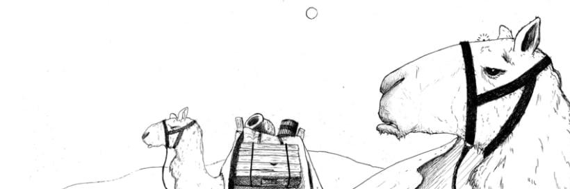 Ilustrando de fabula 6