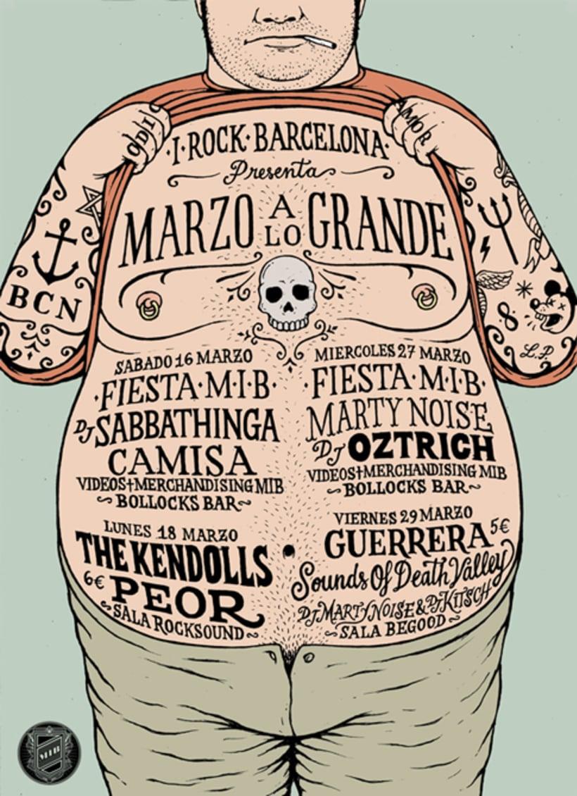 I-Rock Barcelona Poster 0