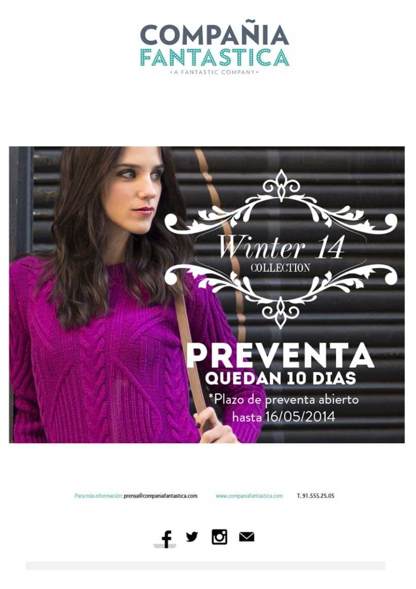 Mailings Moda (prensa, wholesale, invitaciones) 10