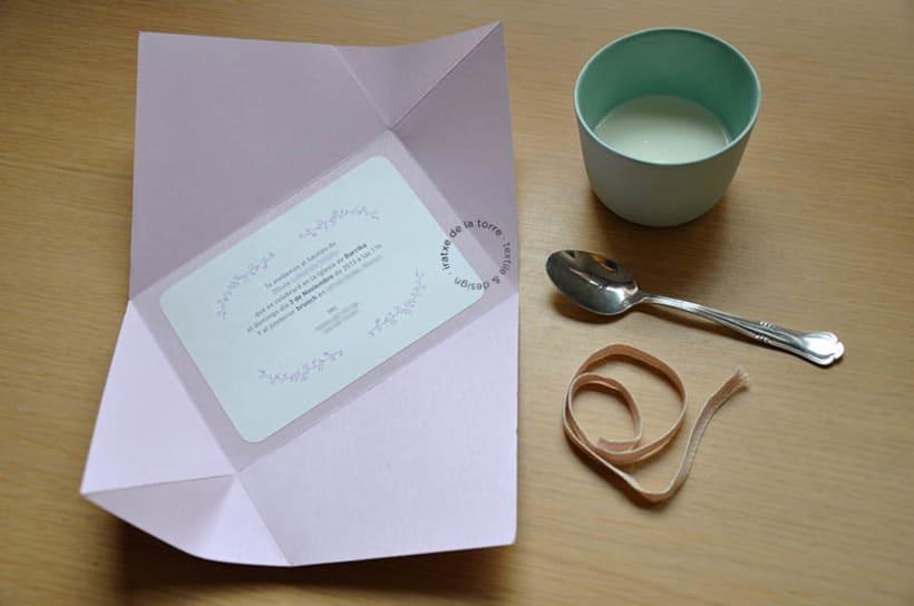 Invitación Floral Bautizo 4