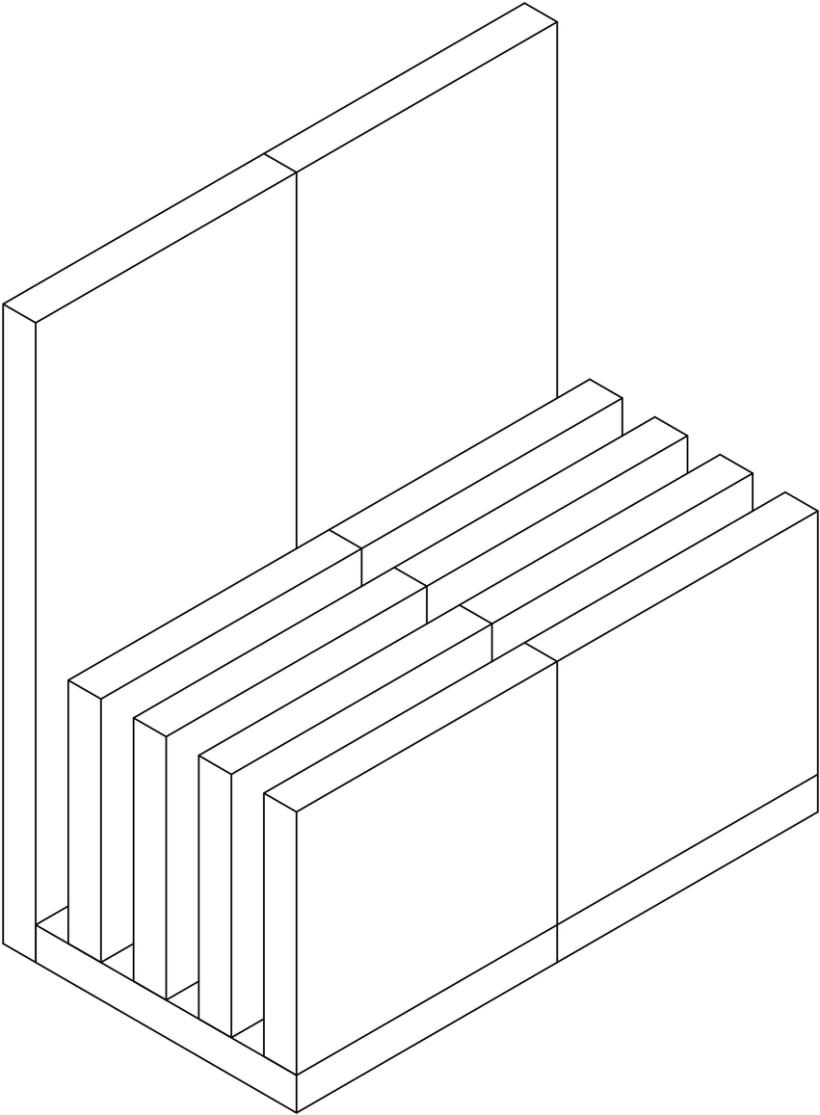 Silla ELE. Logotipo y mobiliario 3
