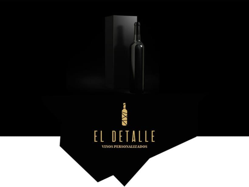 Logotipo | El Detalle - Vinos Personalizados  1