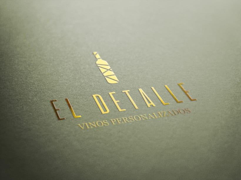 Logotipo | El Detalle - Vinos Personalizados  9