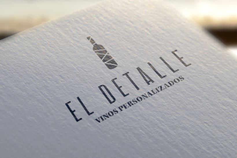 Logotipo | El Detalle - Vinos Personalizados  10