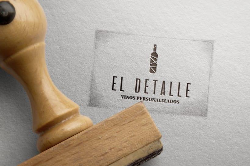 Logotipo | El Detalle - Vinos Personalizados  11
