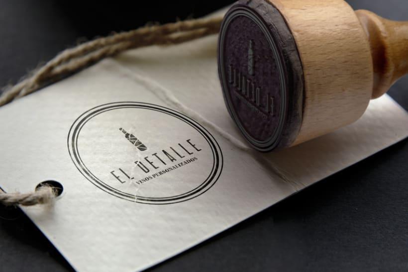 Logotipo | El Detalle - Vinos Personalizados  12