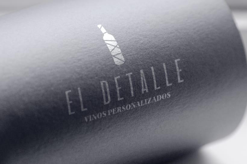 Logotipo | El Detalle - Vinos Personalizados  13