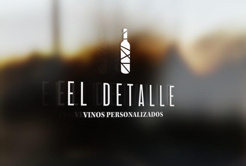 Logotipo | El Detalle - Vinos Personalizados  14