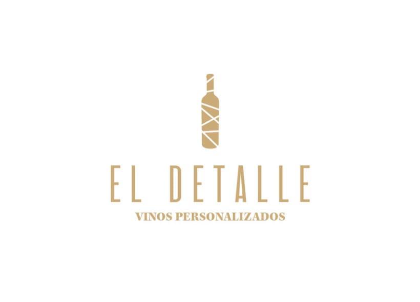 Logotipo | El Detalle - Vinos Personalizados  3