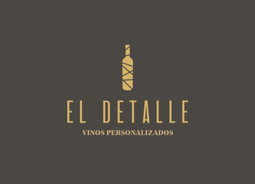 Logotipo | El Detalle - Vinos Personalizados  6