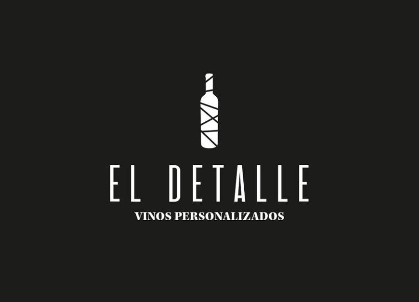 Logotipo | El Detalle - Vinos Personalizados  7